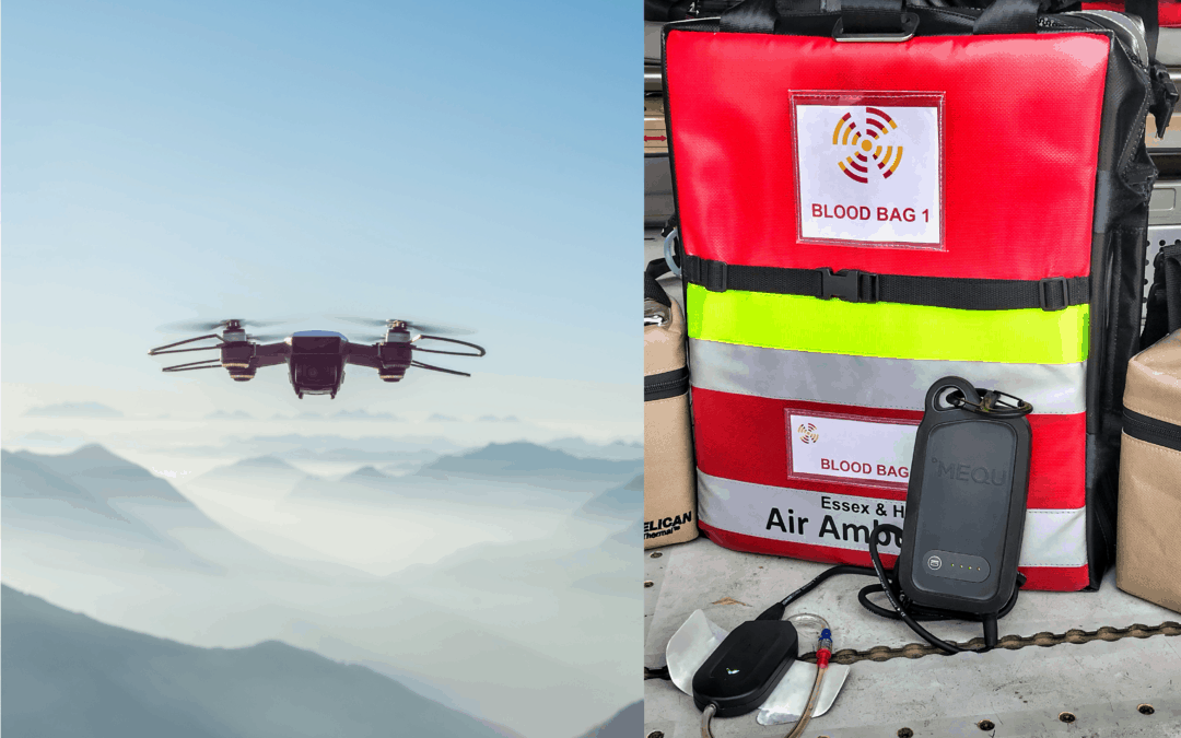 The Use of Drones in Military and Civil Emergency Medicine