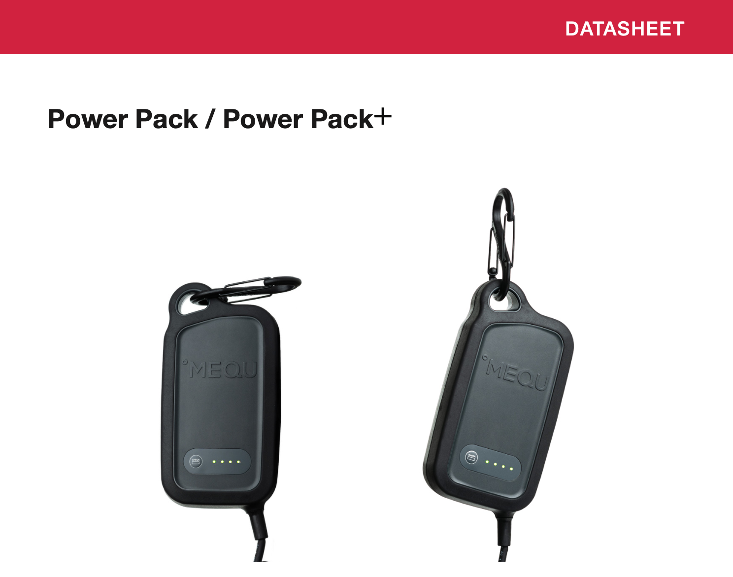 MEQU Datasheet battery