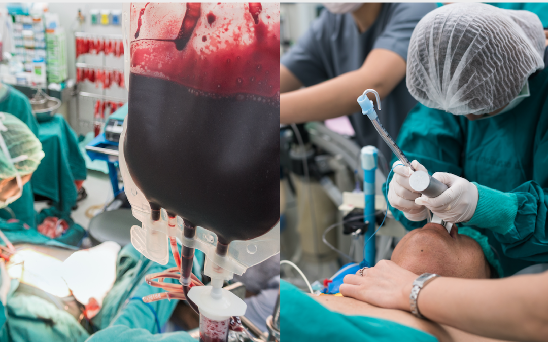 Benefit of Early Use of Blood Products Before Rapid Sequence Intubation for Trauma Patients