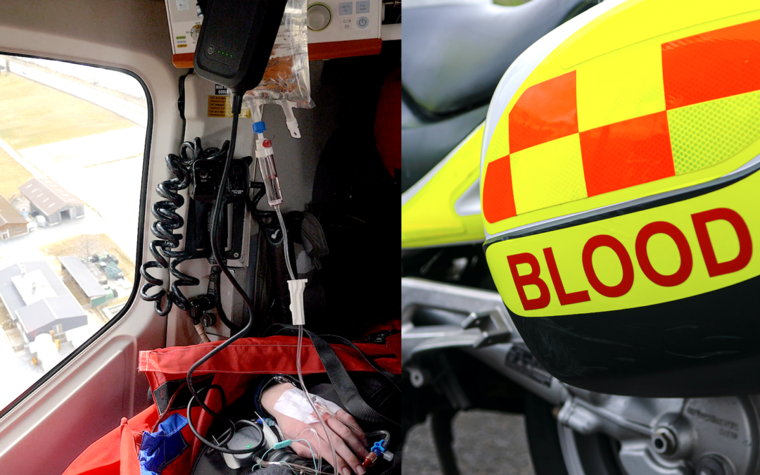 Prehospital Blood Product Resuscitation in the Severely Injured Patient