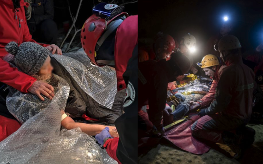 °M Warmer System to Save Injured Cave Adventurers in Hungary