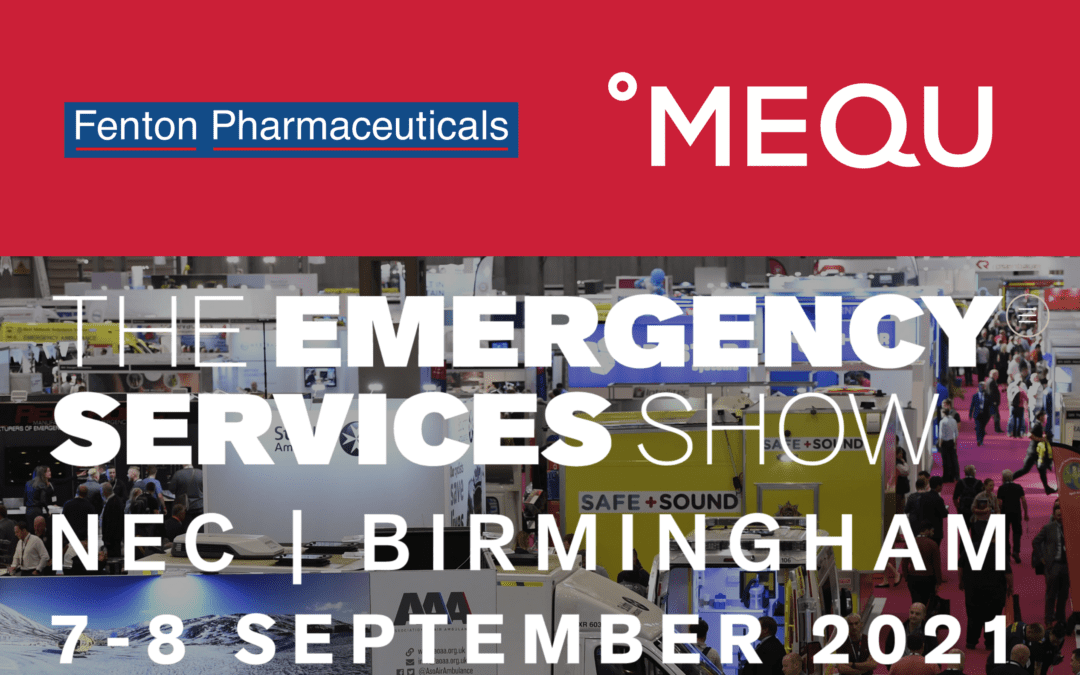 Meet °MEQU at The Emergency Services Show in Birmingham, the UK!
